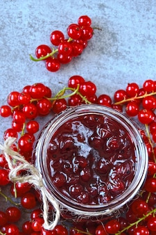 Red currant. cooking at home