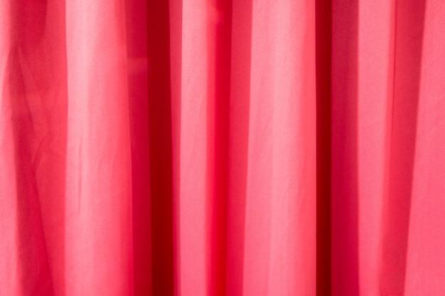 Красный занавес мятой текстуры для фона