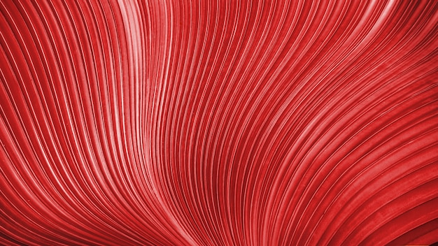 Red delicate smooth twist lines background. abstract luxury texture for decorative.