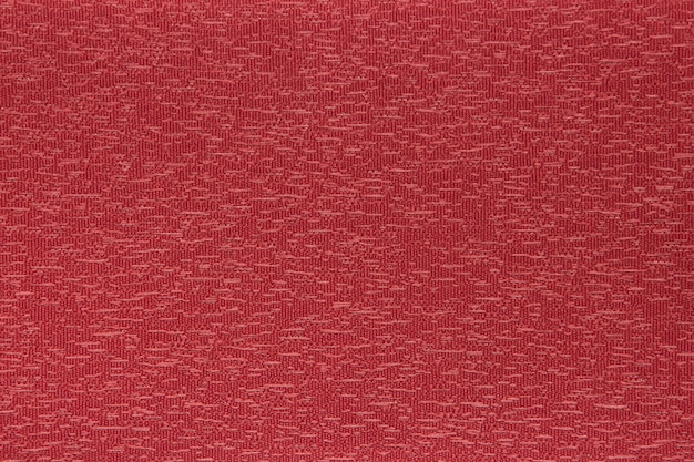 Red fabric blind curtain texture