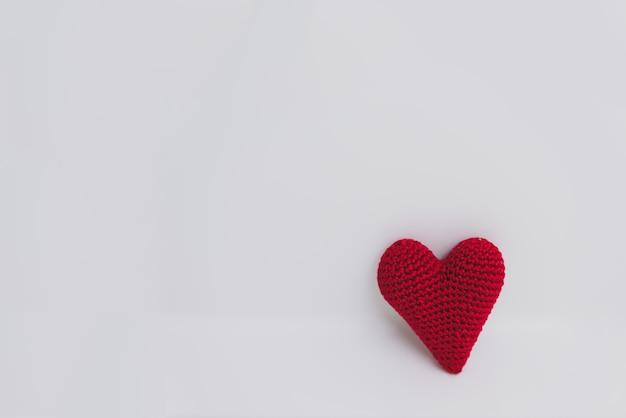 Красное сердце ткани