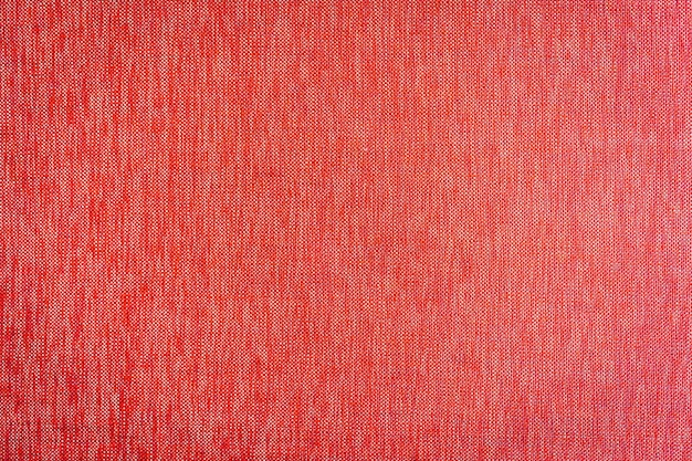 Red fabric textures and surface