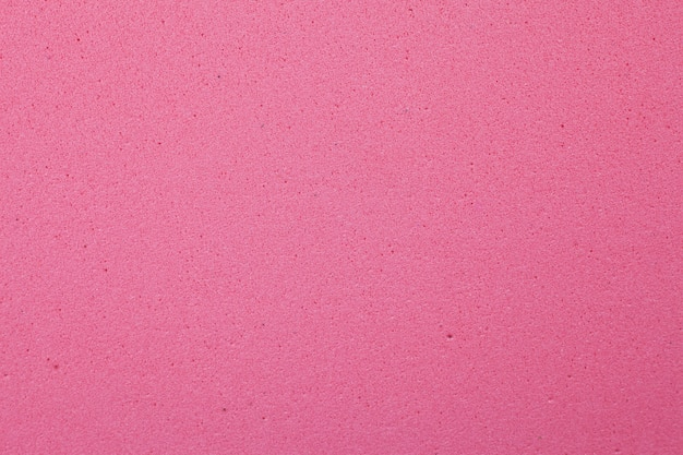 Red foam rubber texture background.