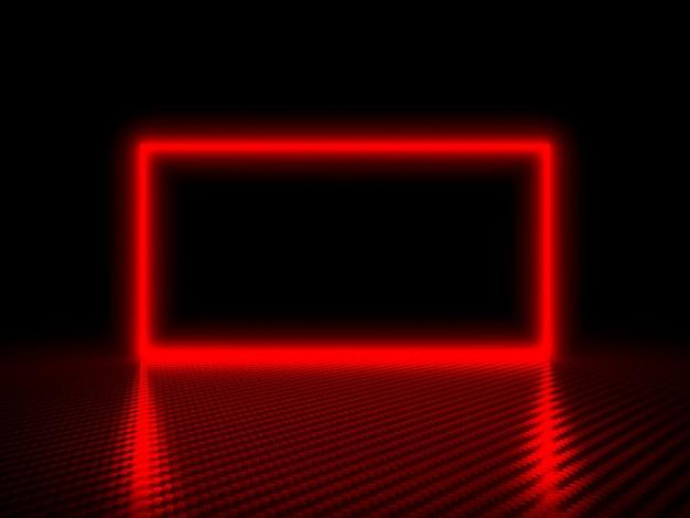 Red frame background