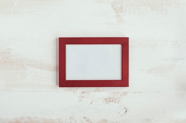 Red frame with white vintage background for love message