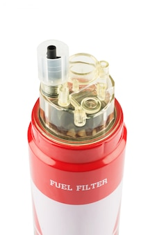 Red fuel filter