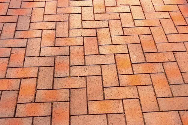 Красная, великолепная, прямоугольная керамическая клинкерная плитка для патио или тротуара