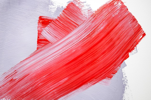 Red and gray paint on wall Free Photo
