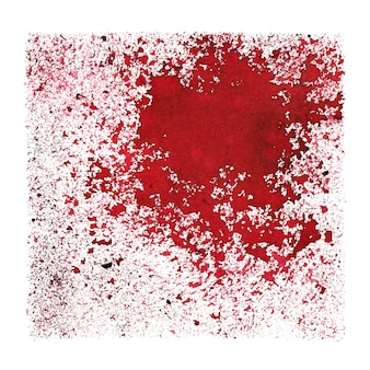 Red grunge abstract background -  space for your own text - raster illustration