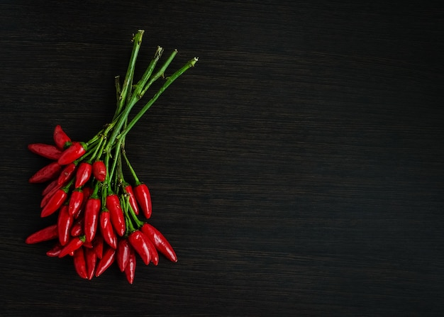 Red hot mini chili peppers