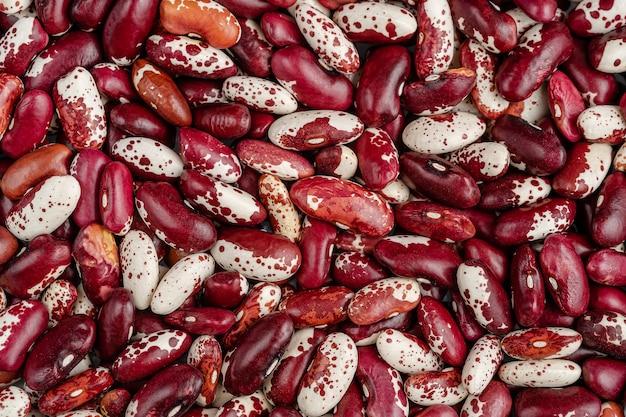 赤インゲン豆の背景またはテクスチャ