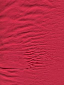 Red linen fabric texture