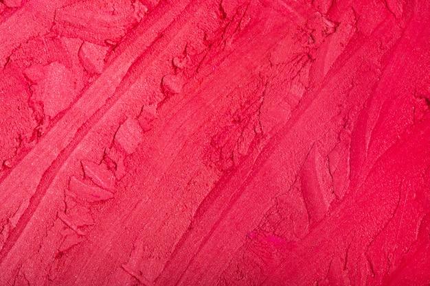 Красная помада текстуры пространства