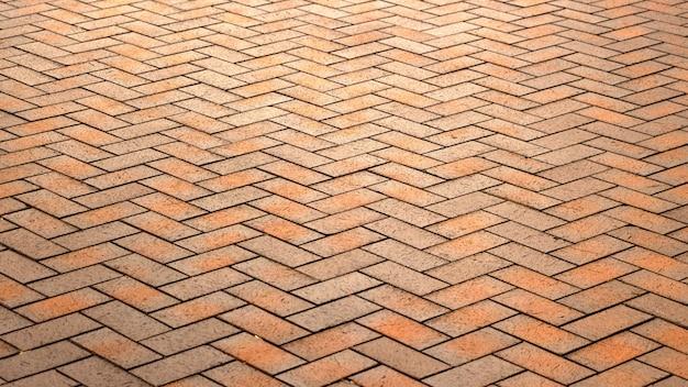 Красная, роскошная, старинная прямоугольная керамическая клинкерная плитка для патио или тротуара