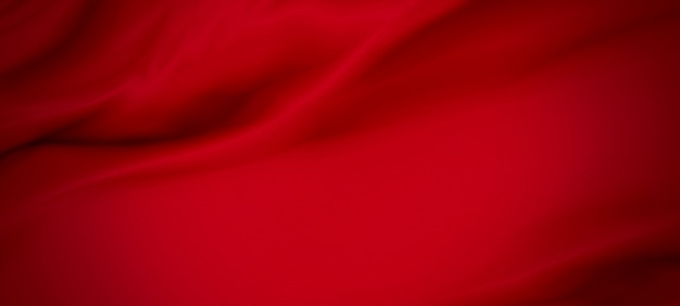 Red luxury fabric background