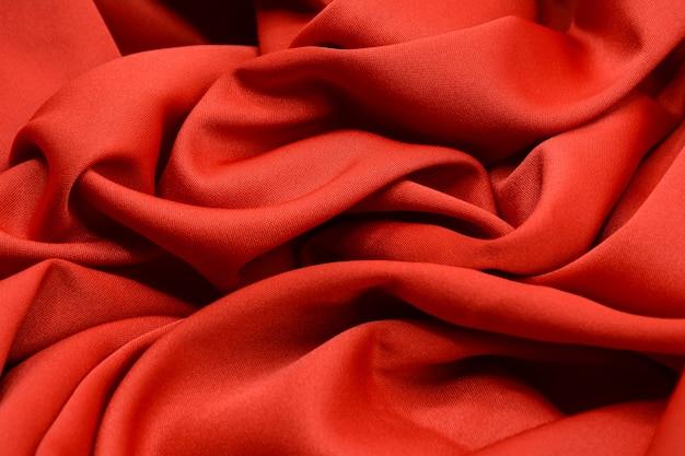 Red luxury fabric texture