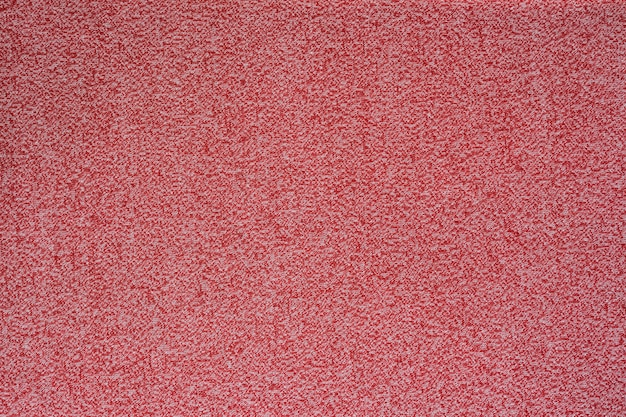 Red melange seamless fabric texture.