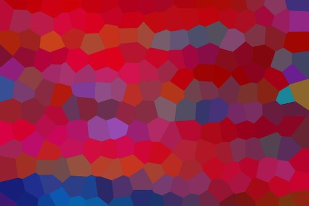 赤いモザイク抽象的なテクスチャ背景、グラデーション壁紙のパターン背景