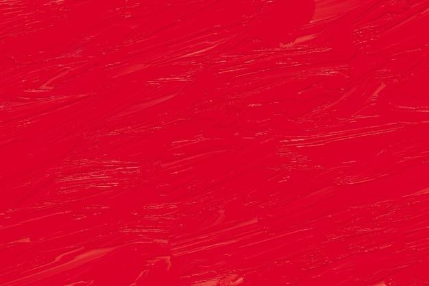 Красная масляная краска текстуры, окрашенный фон стены. грубые мазки на холсте, абстрактные бумажные фоны.