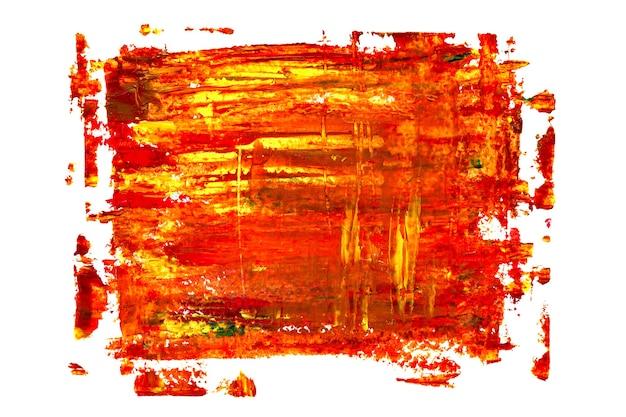 赤い油絵の質感。鮮やかな抽象的な背景