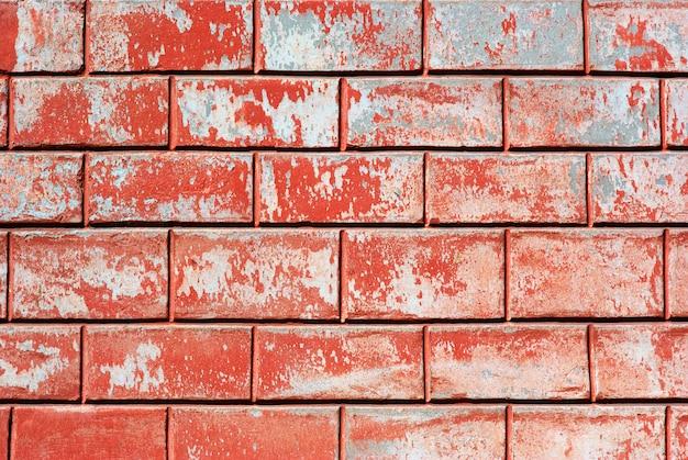 赤い古い壁