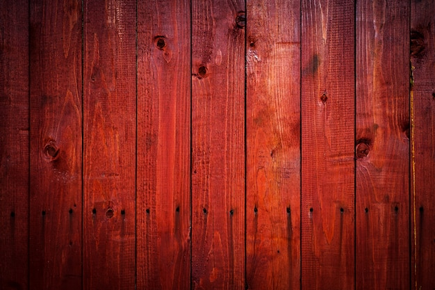 Red old wooden texture background