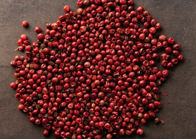 Red pepper peas natural spice for dishes