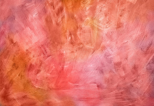 Red and pink autumn background canvas texture