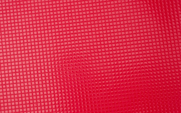 Red plastic texture, full frame, close up