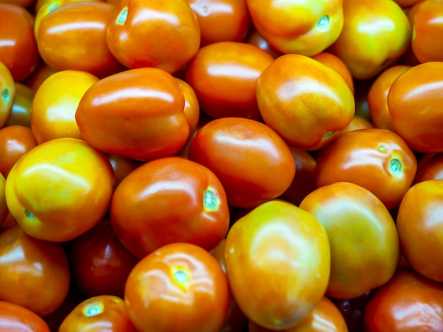 赤いジャガイモの背景。