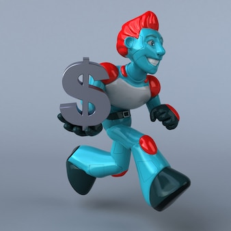 Red robot animation
