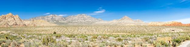 ラスベガスネバダ州アメリカ合衆国のレッドロックキャニオン