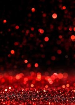 Glitter rosso scintillante