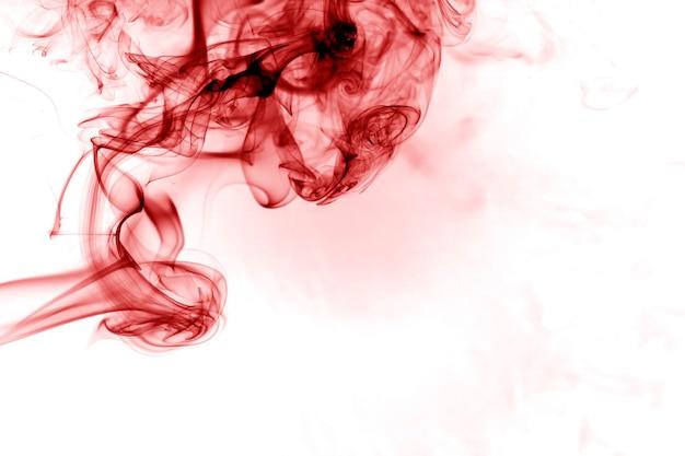 Red smoke movement.