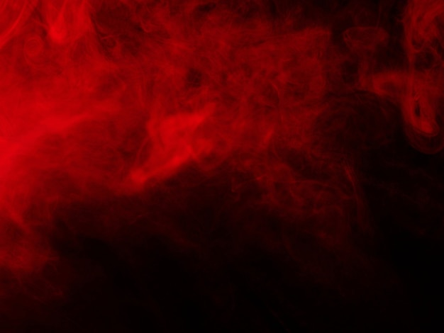 검정에 빨간 연기 텍스처