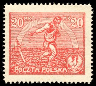 Red sower stamp