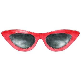 赤いサングラス