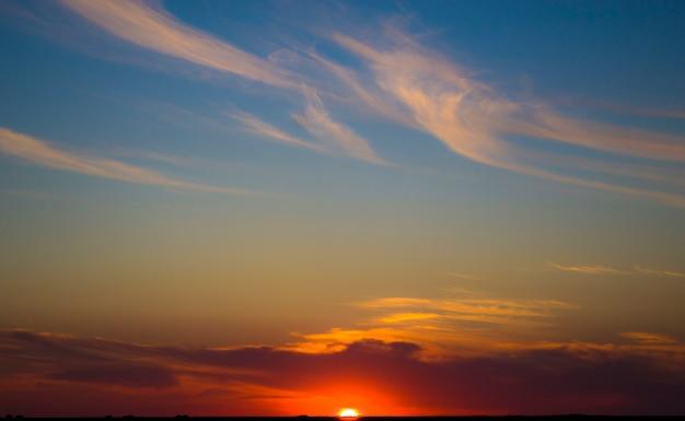 Red sunsetskyred sky at sunsetextraordinary sky
