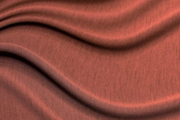 캐시미어 실크 원사로 만든 빨간색 스웨터