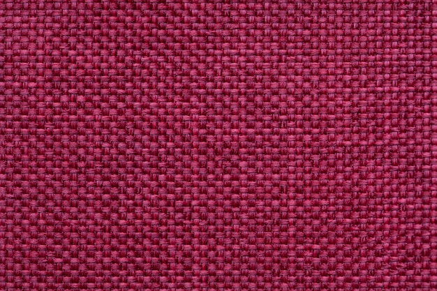 Red textile background with checkered pattern