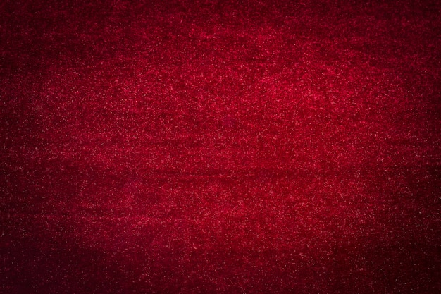Red velvet material