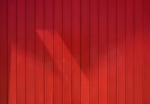 Red vertical striped wood background texture