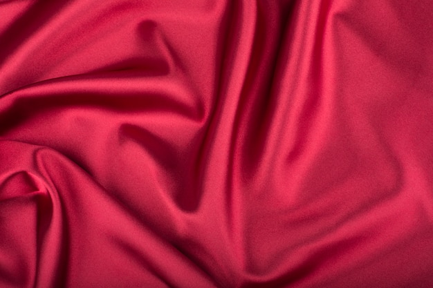 Red (vinous) silk (satin) background