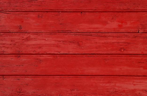 Красный винтаж окрашенный фон деревянные панели