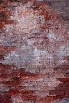 Red vintage stylish brick wall