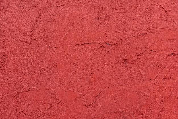 Red wall textured background