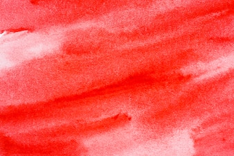 Red watercolor background for design