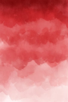Red watercolor background texture