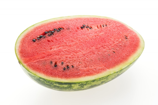 Red watermelon fruit