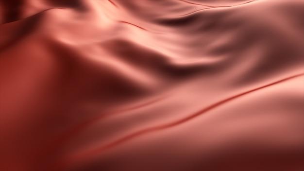 赤い波の背景。